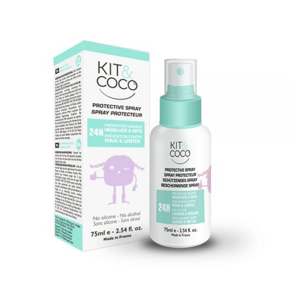 Spray repulsif anti-poux